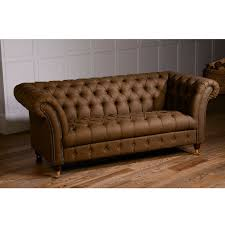 leather chesterfield sofa bed sale harris tweed or vintage leather chesterfield sofa by the orchard
