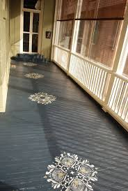 Front Porch Floor Paint Colors by Floor Stencils Designs U2014 Home Decor Ideas Porch Pinterest