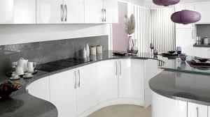 white gloss kitchen grey worktop google search kitchen ideas