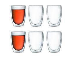 bicchieri bodum bodum pavina set 6 bicchieri da 25 cl bicchieri foto idee