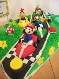 mario kart birthday cake cakecentral com