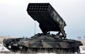 Tos Russia U0027s Tos 1 Moscow U0027s Most Powerful Weapon Of War That Isn U0027t