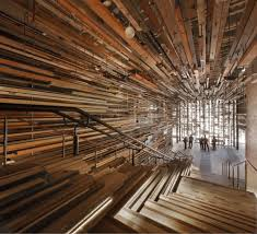 wood interior homes blurring the boundaries of wood highly unconventional interiors