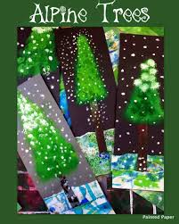 christmas tree art projects for kids cheminee website
