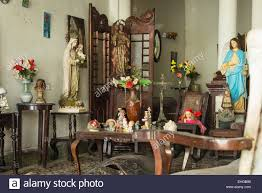 cuba santa clara private house home with religious memorabilia cuba santa clara private house home with religious memorabilia trinkets collectibles antiques dried stuffed animals