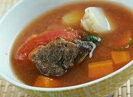 cuisine ouzbek chourpa soupe à la dinde cuisine ouzbek avec des tomates banque