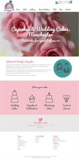 Showcase of 10 Beautiful Cupcake Website Design