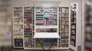 scrapbooking cabinets and workstations workstation cupboard workbox youtube