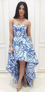 best 25 blue and white prom dresses ideas on pinterest blue and