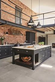 industrial style kitchen island best 25 industrial kitchens ideas on industrial house