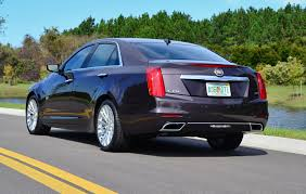 2014 cadillac cts performance 2014 cadillac cts 36 performance collection rear side