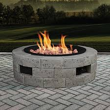 Firepit Inserts Grand Resort Gas Pit Kit With 35x35 Insert