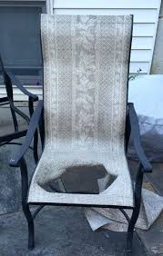 Patio Chair Sling Outdoor Furniture Slings Sling Replacement Patio Claudiomoffa Info