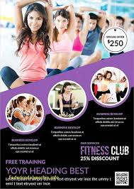 Fitness Flyer Template Free cheap fitness flyer template free free template 2018free template 2018