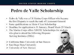 naval rotc scholarship marine corps option class of 2017 12th grade