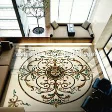 sale waterjet marble inlay flooring design work buy waterjet