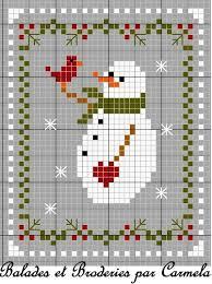 644 best cross stitch snowmen winter images on cross