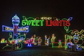 sweet lights hershey pa experience the magic of hersheypark christmas candylane and hershey