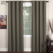Light Silver Curtains Essex Grommet Curtain Panels