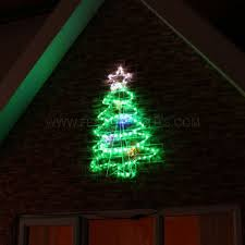 rope light tree motif multi coloured twinkling leds