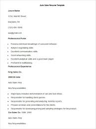 resume sles for freshers download free sales resume template 41 free sles exles format