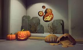 symmetra halloween skin see overwatch u0027s halloween skins new co op pve brawl detailed