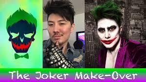 the joker make over youtube