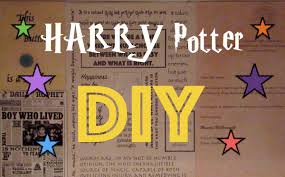 Harry Potter Home Harry Potter Diy Ideas L Home Decor Ideas Youtube