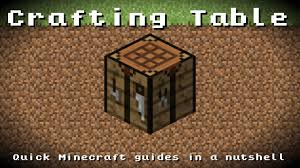 Minecraft Crafting Table Guide Minecraft Crafting Table Recipe Item Id Information Up To