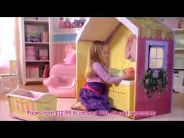 Dream Town Rose Petal Cottage Playhouse by Dream Town Commercials Youtube