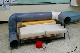 gatti divani divano moderno cat tunnel sofa risparmiare spazio pensando al