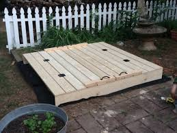 Backyard Sandbox Ideas Ana White 6 U0027 Square Sandbox Diy Projects