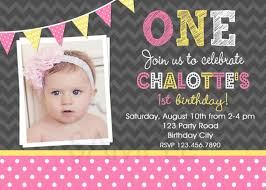 pink and yellow birthday party invitations 1st birthday
