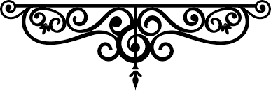 wrought iron outline clip at clker vector clip