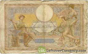 bureau de change merson 100 francs banknote merson exchange yours for today
