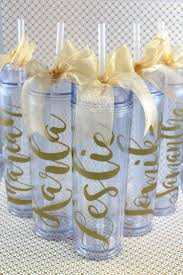 bridal party favors personalized tumbler wedding party acrylic tumbler