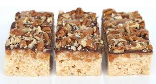 recipe caramel turtle rice krispies treats u2013 glorious treats