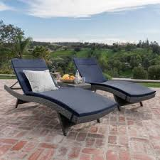 Outdoor Reclining Chaise Lounge Reclining Chaise Lounge Chairs You U0027ll Love Wayfair