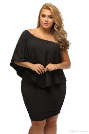 off shoulder dresses plus size multiple dressing layered