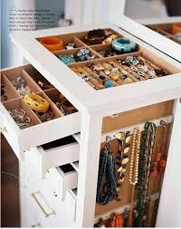 Ballard Designs Jewelry Armoire The Long And Short Of It Organizing Jewelry
