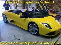 lamborghini kit car build f430 replica kit car build kit car owners