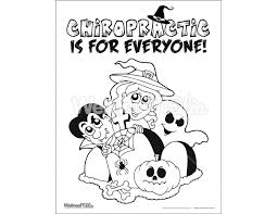chiropractic coloring books