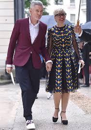 baz luhrmann and catherine martin cut stylish figure attending