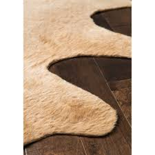ottoman attractive amazing home furniture with cowhide ottoman