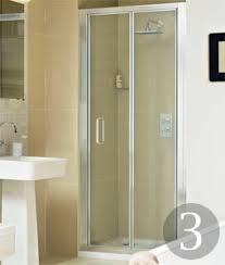 Inward Opening Shower Door The Shower Enclosures Real Homes