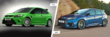 Focus Rs 2009 Ford Focus Rs Old Vs New Hatches Compared Carwow