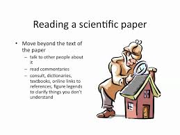 writing a literary research paper how to read a scientific paper youtube