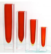 Tall Red Vases Cheap Murano Glass Vases U0026 Centrepieces Muranonet Online Store