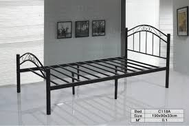 twin size bed single bed c118a stainless steel bed frame buy