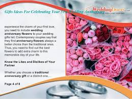 wedding gift experience ideas gifts ideas for celebrating your 51st wedding anniversary
